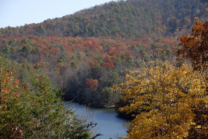 Fall on Smith Mountain Lake